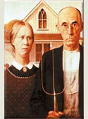 American Gothic Magnet