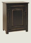 Cabinet Style End Table