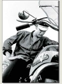 Elvis Motorcycle Magnet