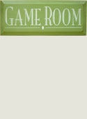 Game Room Wooden Sign