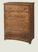Shaker Highboy Chest