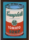 Soup Can (Pink / Red)