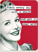 Start Your Day With A Smile Magnet