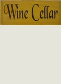Wine Cellar Wooden Sign