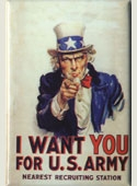 Uncle Sam Magnet